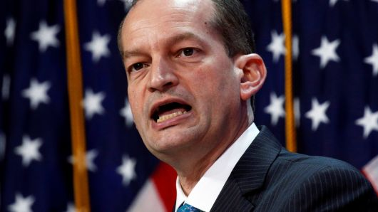 Labor Secretary Alex Acosta, other federal prosecutors violated the rights of Jeffrey Epstein's sex-crime victims, judge rules