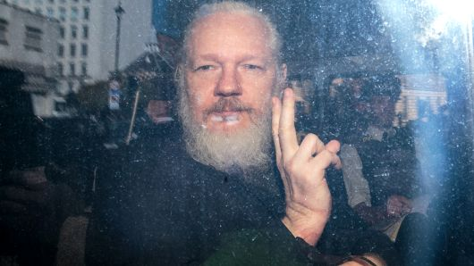 US charges WikiLeaks co-founder Julian Assange with conspiracy to commit computer hacking