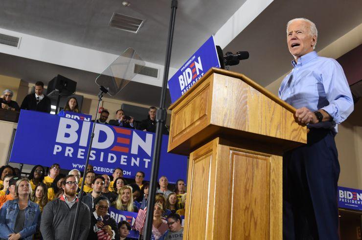 Joe Biden attacks Trump in 2020 kickoff pitch to blue-collar Americans