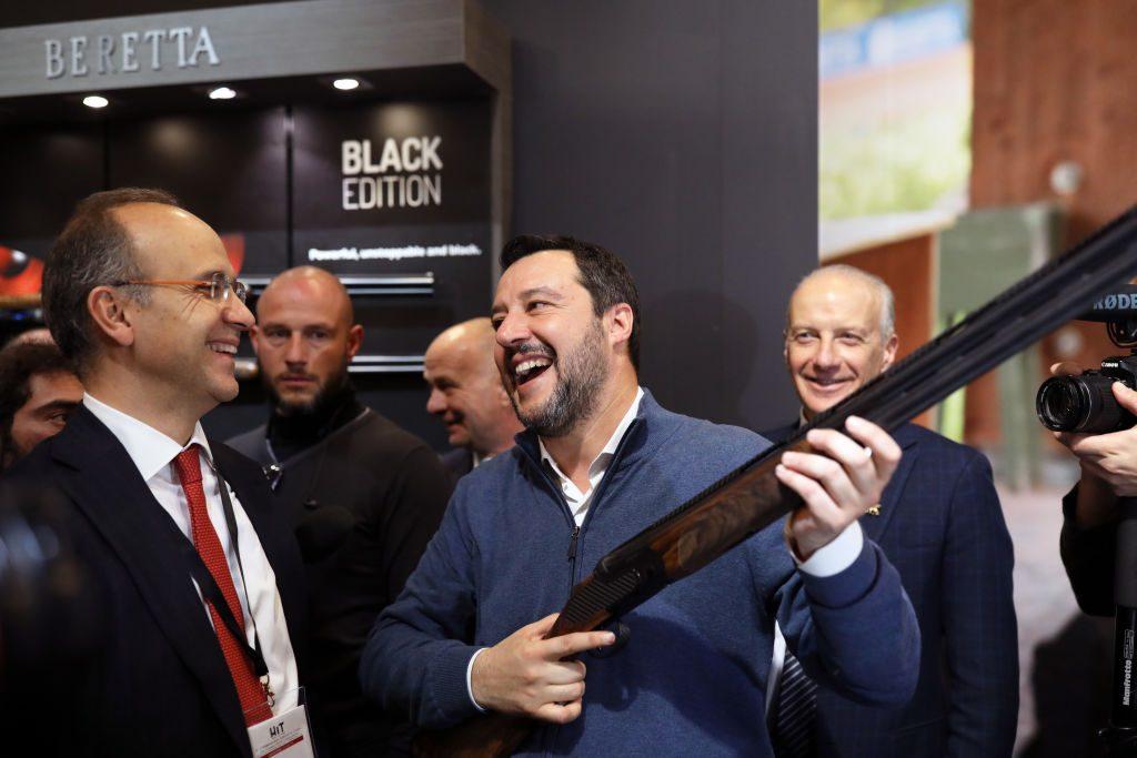 Italy's anti-immigration Lega party enjoys EU election triumph