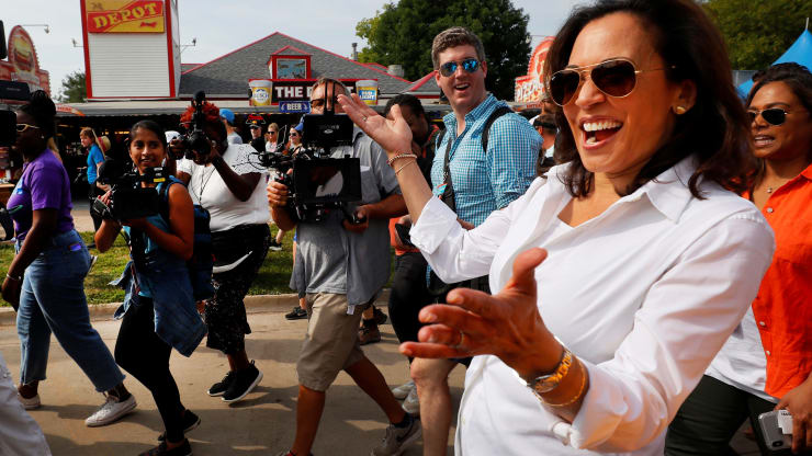 Kamala Harris raises over $1 million at Hamptons and Martha's Vineyard fundraisers