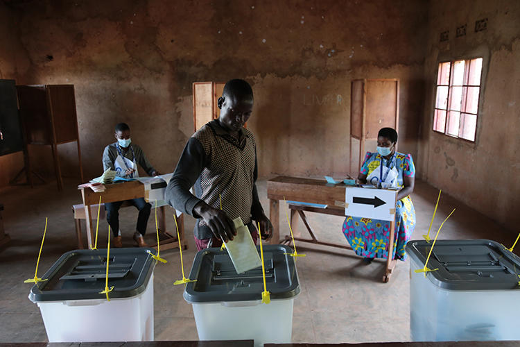 BURUNDI-POLITICS-ELECTION-VOTE